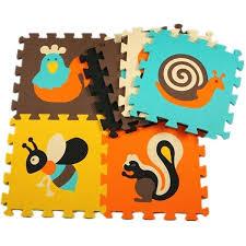 colorful animal pattern foam puzzle kids rug carpet split joint play mat ikea lekplats childrens indo