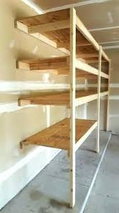diy garage storage loft very easy garage shelving how to best made plans garage shelves projects