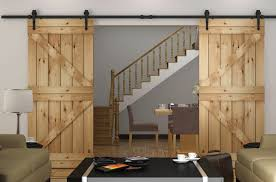 8ft double barn door kit black color us warehouse shipping