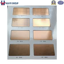 colored sheet metal china high quality pvd colored stainless steel sheet metal plate