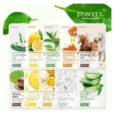 <b>Маска для лица Eunyul</b> Natural Moisture Mask Pack Green Tea ...