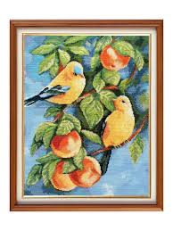 "<b>Набор для вышивания</b> ""Птицы"", 25х31 см Гобелен Классик ..."