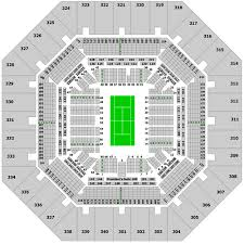 Arthur Ashe Stadium Seating Chart With Seat Numbers Broadway Seat Us Open