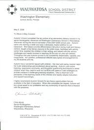 Sample Letters Of Recommendation For Students From Teachers - April ...