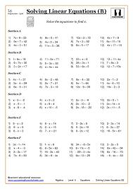 gcse intrepidpath a mechanical electrical large size algebraic equations free best worksheet algebra solving at ks3 and ks4