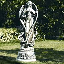 weeping angels garden statues angel garden statue garden angel with dove figurine weeping angel garden statue