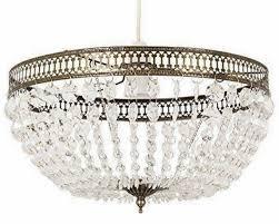 antique brass servlite calla pendant light shade acrylic droplet modern hanging for