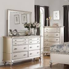 Perfect Esofastore Esofastore Formal Traditional Romantic Bedroom Furniture 4pc Set  Cal King Size Bed Dresser Mirror Nightstand
