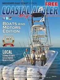 Coastal Angler Magazine June Mississippi Gulf Coast By