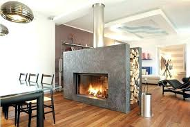 2 sided gas fireplace pertaining to two sided fireplace insert