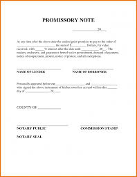 notarized letter notary presentment template notarized letter template promissory