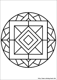 Small Picture Printable 45 Simple Mandala Coloring Pages 5455 Simple Mandala