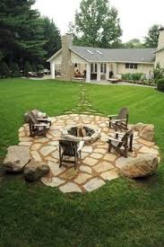 Best 25+ Rustic fire pits ideas on Pinterest | Landscaping backyard on a  budget, Rustic backyard and Backyard ideas on a budget