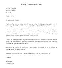 Student Character Reference Letter Letter Of Recommendation For High School Student Scholarship