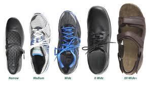 Shoe Width Chart Explained Shoe Widths Explained