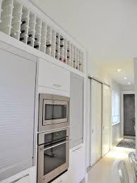 wine rack modern kitchen