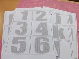 this post has some templates you can print and use including numbers