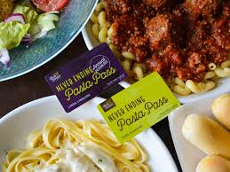 olive garden is ing a pass that gives you a year of unlimited pasta for just 300