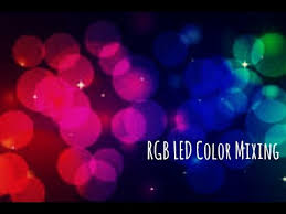 Rgb Led Color Mixing