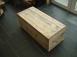 traditional wooden chest trunk