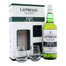laphroaig select islay single malt scotch whisky gift pack 70 cl amazon co uk grocery