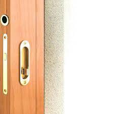 sliding glass doors locks types