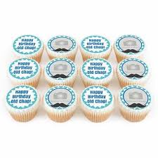 Personalised Cupcakes For Him Bakerdays