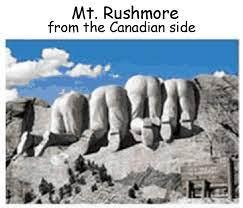 Mt. Rushmore from the Canadian Side | joe-ks.com