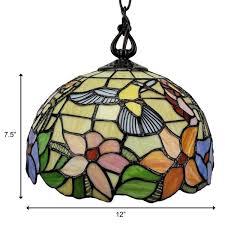 light multi color hanging pendant lamp