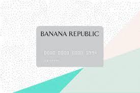 banana republic card review