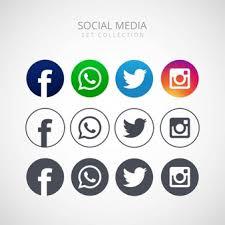 facebook twitter instagram logo. Contemporary Instagram Icons For Social Networking Vector Illustration Design Throughout Facebook Twitter Instagram Logo E