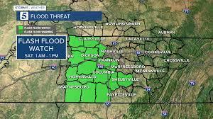 Flash Flood Watch issued ahead of ...