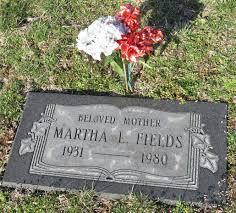 Martha L Fields (c.1931 - c.1980) - Genealogy