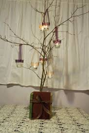 wedding centerpieces with candles and branches cheap   Wedding Centerpieces  Ideas With Branches