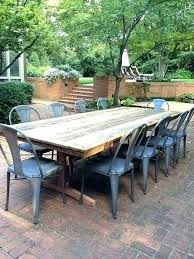narrow table outdoor patio page 3