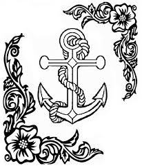beautiful of anchor coloring page gallery