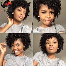 Natural Hair Style Wigs cute girl natural hairstyles virgin hair wig natural curly lace 1157 by stevesalt.us