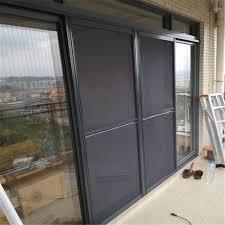 top aluminum screen door