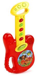 Купить Умка гитара B1579623-R1 красный/желтый по низкой ...