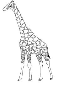 S Dessin Coloriage Girafe Imprimer Gratuit