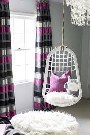perfect teen hanging chair white rattan girls room hanging chairs design ideas