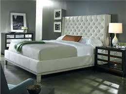 Tufted Headboard Bed Frame White Tufted Bedroom Set White Tufted ...