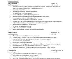 Staff Accountant Resume Data Entry Sample Resume