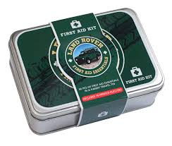 landrover first aid kit 50 piece first aid travel tin
