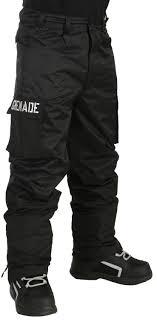 Grenade Snowboard Pants Size Chart Grenade Cargo Snowboard Pants