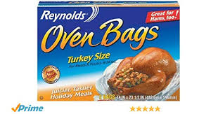 Cooking Chart For Turkey In Reynolds Bag Reynolds Oven Bags Turkey Size 2 Count Pack Of 24