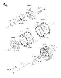 2013 kawasaki kx250f kx250zdf clutch parts best oem clutch parts kawasaki ninja 500r wiring diagram kawasaki kx250f wiring diagram