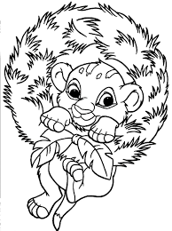 Printable Simba Coloring Pages Coloring Me