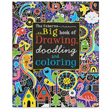 the usborne big book of drawing doodling and coloring