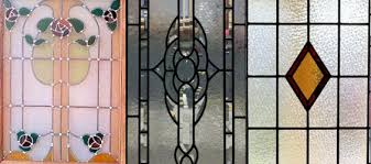 domestic stained glass doors and leaded glass design